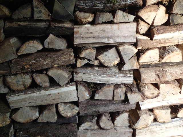 wood warms twice?  try three or four times:  unloading, stacking in barn, loading on dingo, unloading in house....